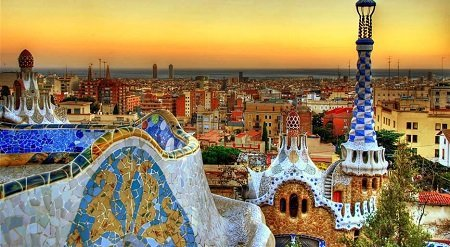 Barcelona Vista Città