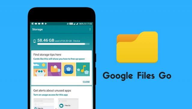 Google Files Go – Scopri il nuovo File Manager di Google