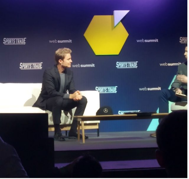 Nico Rosberg al Web Summit 2018